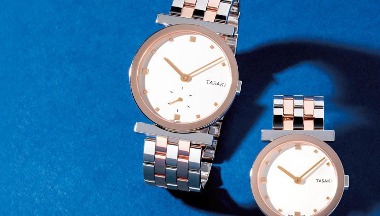 華やかなペアウォッチなら、TASAKIの機械式時計を【名作予報】
