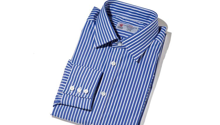 流行を超えた本当にいいもの=本物【ターンブル&アッサー】のビスポークシャツ
