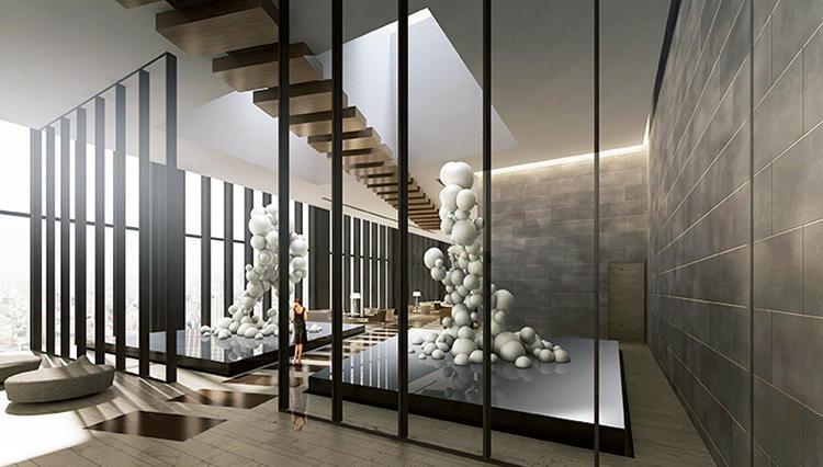 天空のスマートラグジュアリーホテルで極上の空間とアートに浸る「コンラッド大阪」