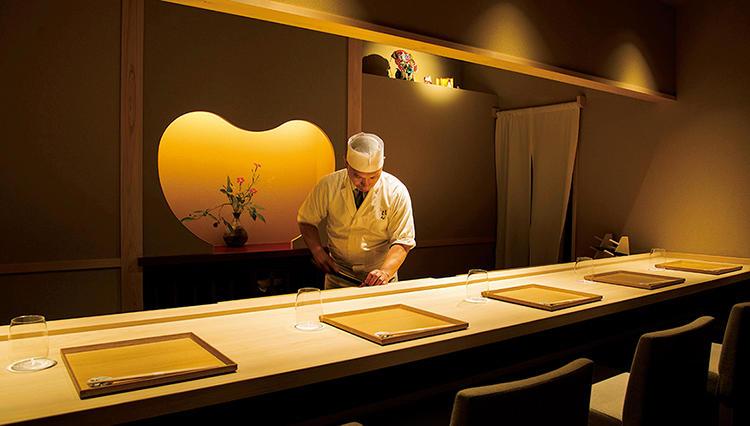 和食とワインの縁組を高次元で提案「乃木坂 しん」