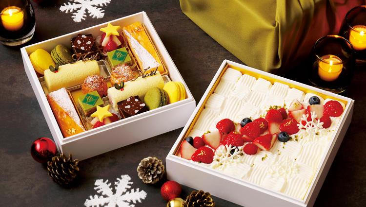 2段重箱のクリスマスケーキ「おもたせ Christmas」で大人のサプライズを!