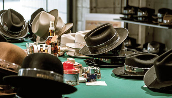 アメリカの老舗帽子ブランド「ステットソン」、世界唯一の直営旗艦店(東京・馬喰町)
