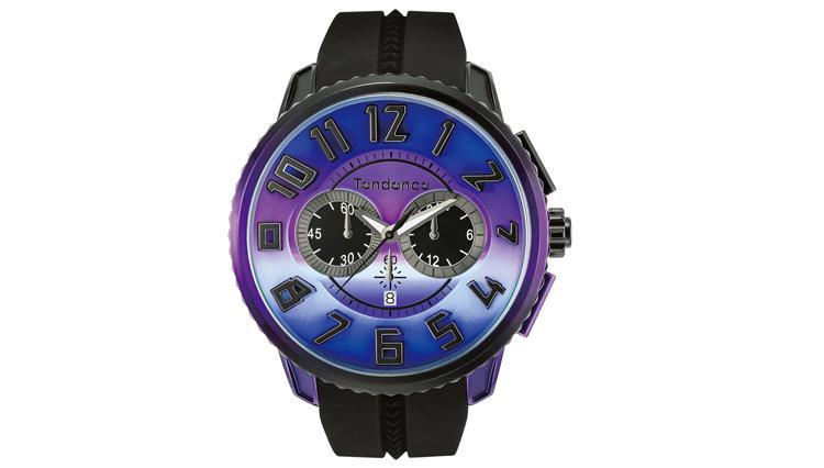 手作業によって完成した美しいグラデーションのテンデンスの腕時計【ひと言ニュース】