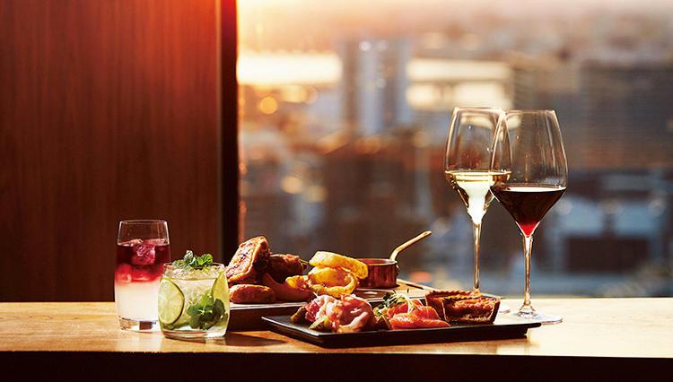 美しいサンセットを借景に料理とお酒でリラックス【インターコンチネンタルホテル大阪】