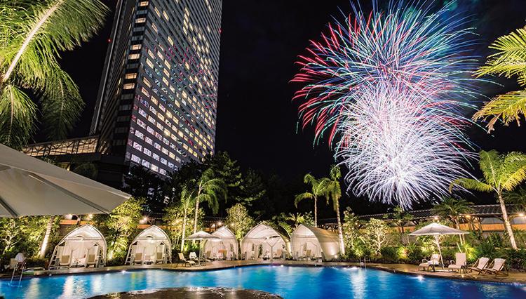 フェニックス・シーガイア・リゾートは9月1日まで毎晩ずっと打ち上げ花火大会!