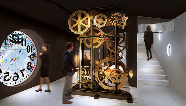 セイコーの新たな情報発信地となる「セイコードリームスクエア」が銀座に誕生