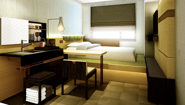 【話題】東京への出張に、茶屋モチーフのこんなホテルはいかが?