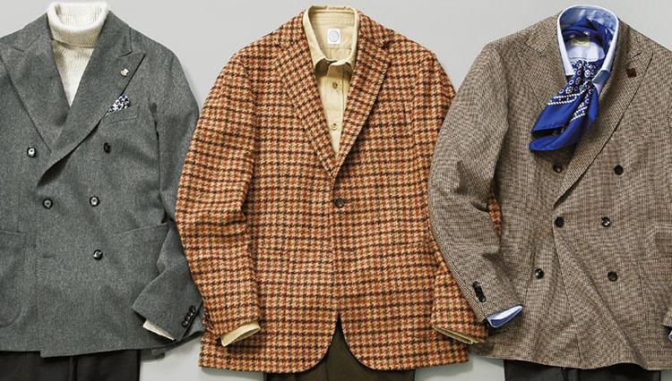 秋冬の週末、英国調ジャケットは「生地」のことを知ればもっと楽しい!