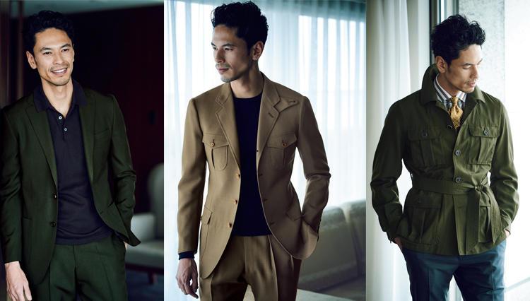個性を引き出すビジネス to キャラクターのスーツ&ジャケットSTYLE考