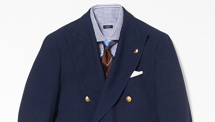 金ボタンの紺ブレ、仕事ではどう着たらきちんと見える?【スーツの着回し1週間チャレンジ!/BEAMS編③】