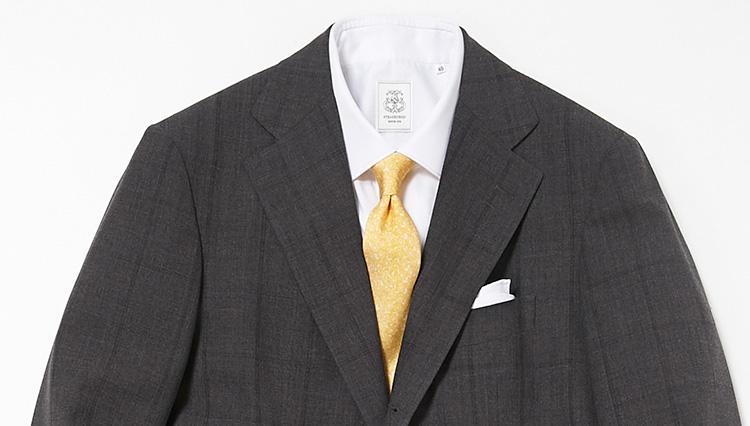 同じスーツを週2回着る時は、どうやって変化をつける?【スーツの着回し1週間チャレンジ!/ストラスブルゴ編#5】