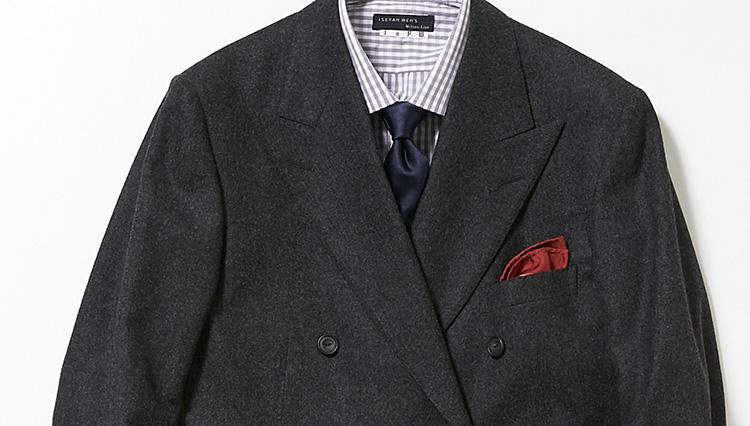こんなスーツが一着あれば、出張時も「きちんと感」を損なわない!【スーツの着回し1週間チャレンジ!/イセタンメンズ編#4】