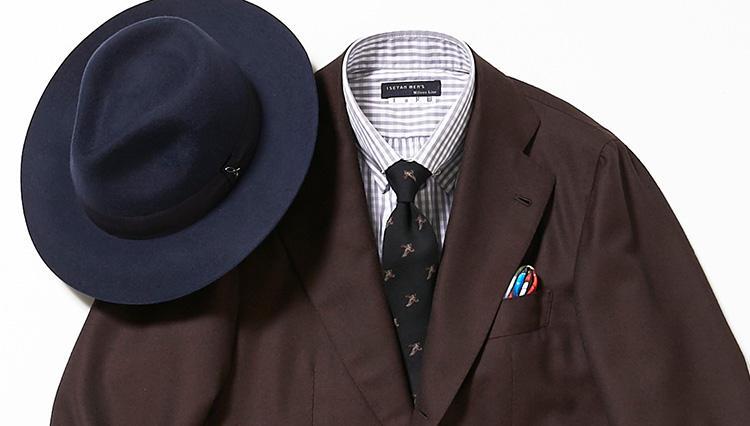 仕事のブラウンスーツ、どんなシャツ&ネクタイを合わせるとカッコいい?【スーツの着回し1週間チャレンジ!/イセタンメンズ編#2】