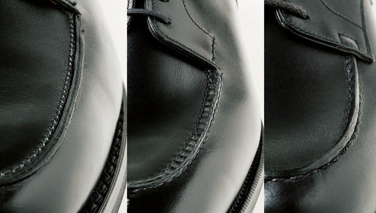 Uチップ高級靴の3大定番、モカ縫いだけで「どこのブランドか」わかりますか?