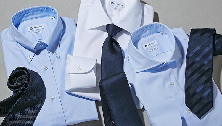 【シャツ&ネクタイ合わせて1万2000円!?】印象別・カミチャニスタの活用術