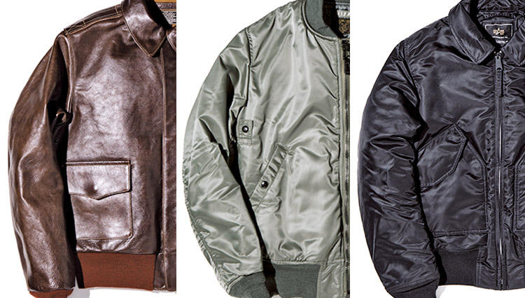 フライトジャケットの傑作3選、型の名前と年代を理解してますか?