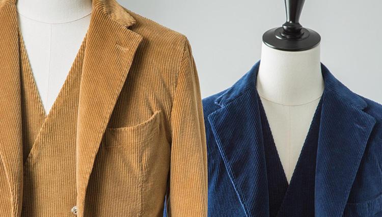 単品でもセット使いもできる着回し力!「サンタニエッロ」のスーツ+ベストが買い!