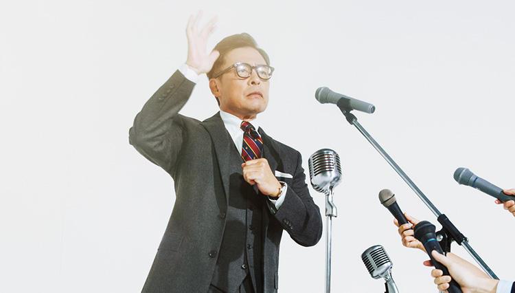 【ドラマなスーツ】光石 研、ブルックスブラザーズで「大統領」になる