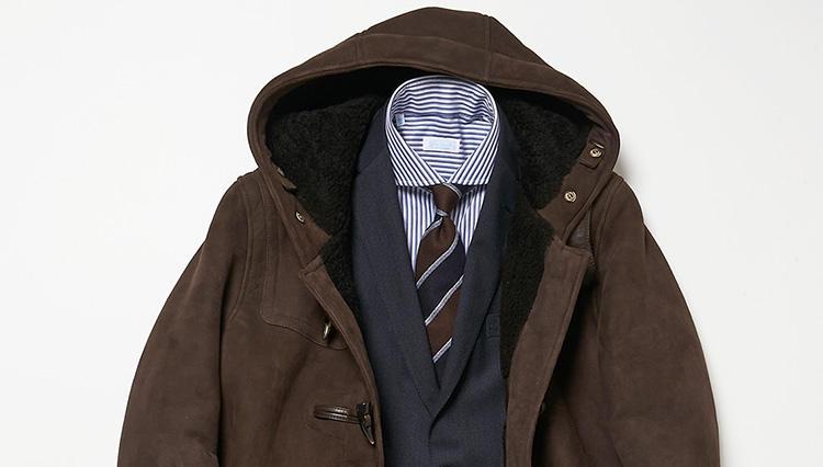 「ジャケット×ダッフル」、コレを守ればお洒落に決まる【スーツの着回し1週間チャレンジ!/ラ ガゼッタ 1987編♯4】