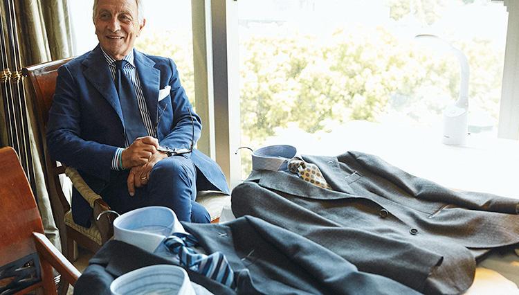 「失敗しないシャツ×ネクタイ組み合わせ」の法則を、ナポリの巨匠に聞いてみた!