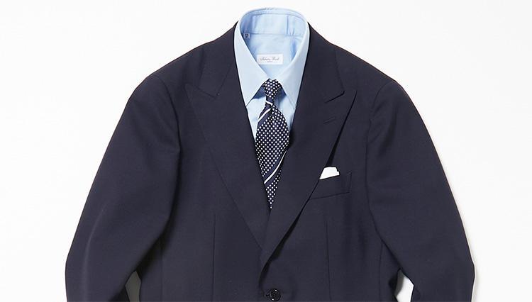 紺無地スーツ選びの匙加減【スーツの着回し1週間チャレンジ!/ユナイテッドアローズ編#1】