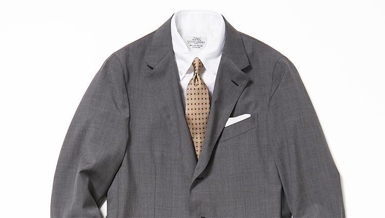 グレースーツには相性抜群なネクタイがある【スーツの着回し1週間チャレンジ!/ユナイテッドアローズ編#2】