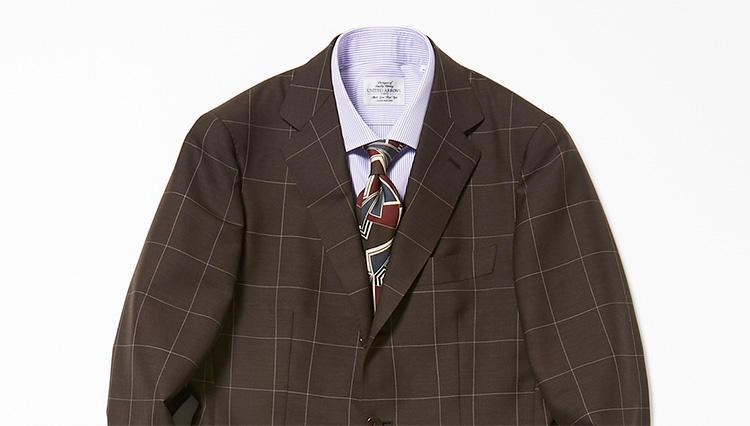 紺・グレーの次はブラウンを【スーツの着回し1週間チャレンジ!/ユナイテッドアローズ編#3】