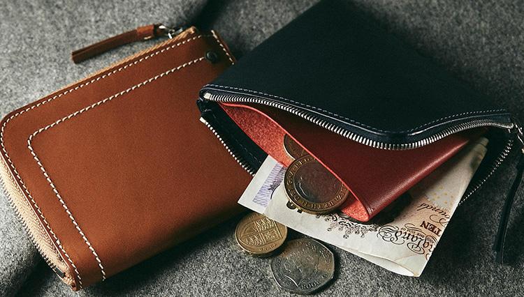 ちょっと外出に便利!「L字ジップ」は究極のサブ財布【2019春財布名鑑 #5】
