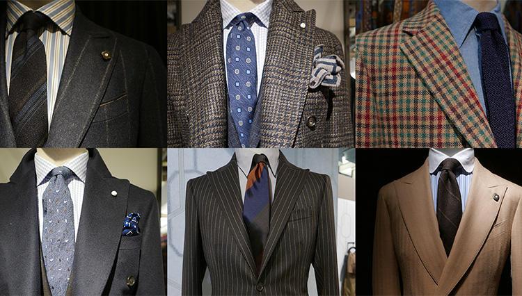 「きちんと見えるスーツの胸元」、仕事で即使える実例23 【Pitti 95 レポート ♯03】