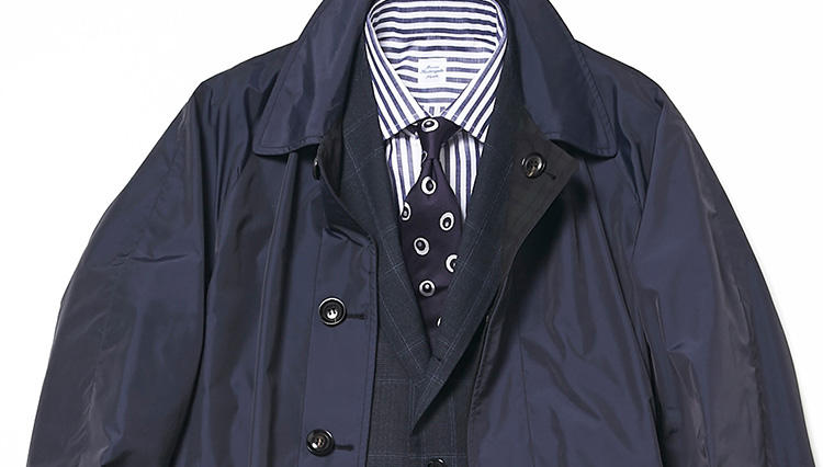 今の季節「1枚あると便利なコート」は、こんなタイプ!【スーツの着回し1週間チャレンジ!/ビームス編#4】