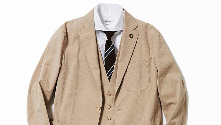 春の3ピーススーツ、買いはこんなセットアップだ!【スーツの着回し1週間チャレンジ!/ジェンテ ディ マーレ編#1】