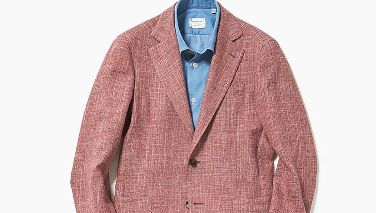 派手色ジャケットを品良くきちんと見せるコツは?【スーツの着回し1週間チャレンジ!/エリオポール編#5】
