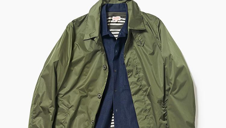 肌寒い春の休日に、1枚あると便利なコートは?【スーツの着回し1週間チャレンジ!/エリオポール編#6】