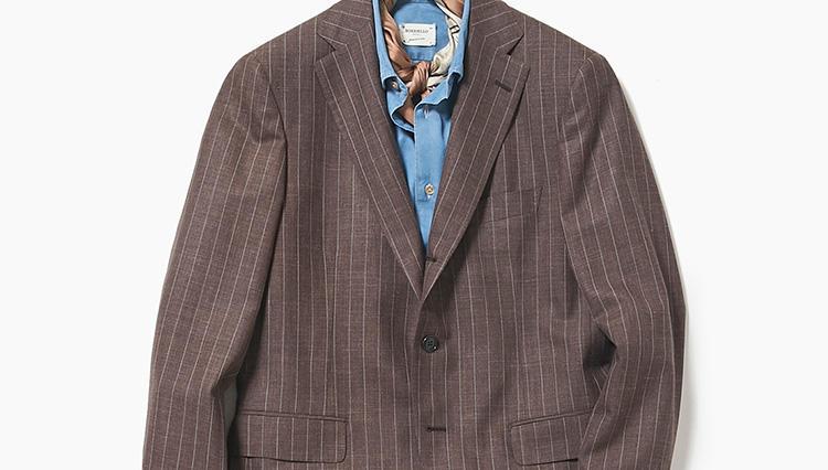 いつものスーツも、ジャケットだけ使うとこんなに違う印象に!【スーツの着回し1週間チャレンジ!/エリオポール編#3】