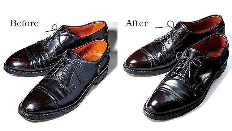 靴磨きの達人直伝! 寝る前の10分メンテ術「靴は仕上げにストッキング(!)で光沢が復活」