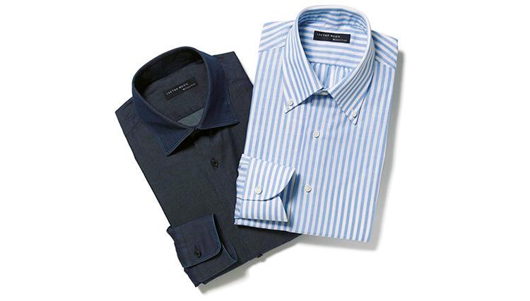 スタイル別に個性派オーダーが楽しめるイセタン メンズの「オーダーシャツ」
