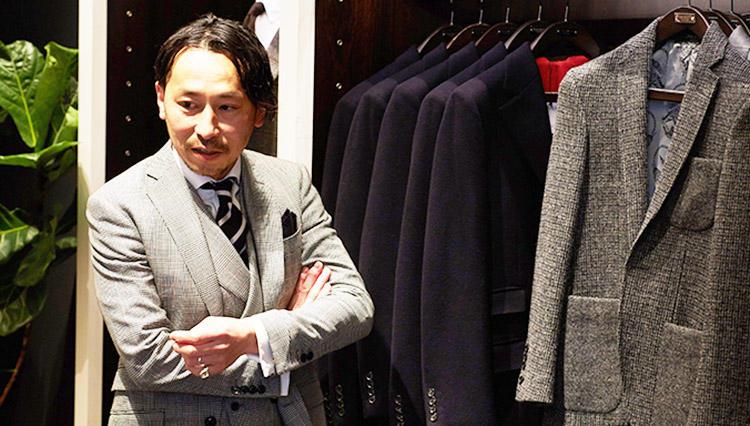 【ファッション履歴書】ハケット ロンドン アシスタントマネージャー&パーソナルテーラリング 齋藤秀明さんの場合