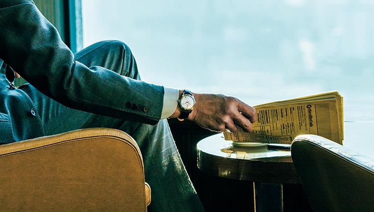 こんなとき腕時計は何を?→急遽、社長の代理で取引先CEOと仕事することに…