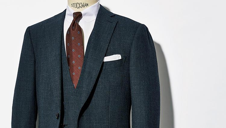 春から初夏までサラリと着られるウィリアム ハルステッドのスーツ生地とは?【NEXTILE Vol.8】