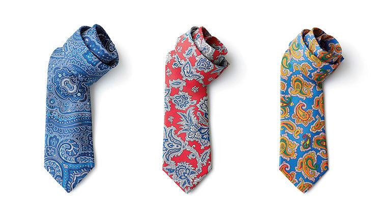 エトロのペイズリー柄ネクタイ、その魅力とはーー?