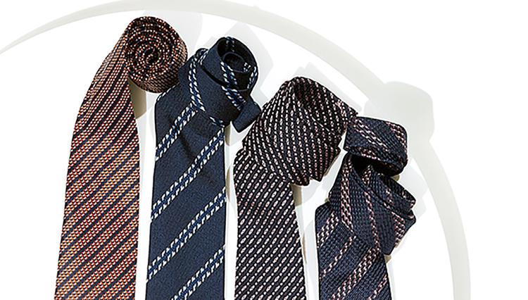 イタリアの「織り技」が光る!エルメネジルド ゼニアのネクタイ