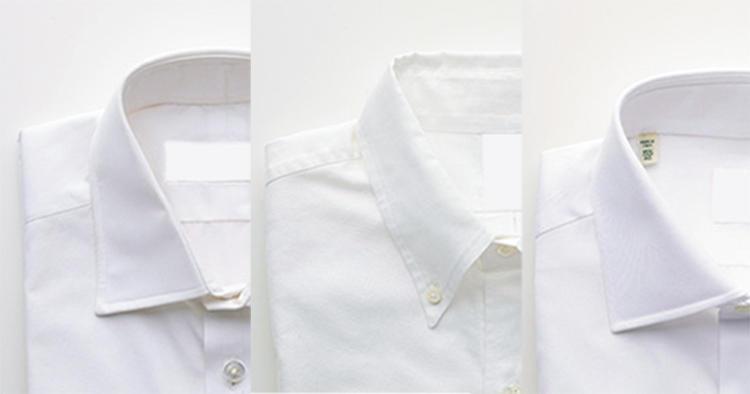 英・米・伊の定番ドレスシャツ、どれがどのブランドだか判りますか?