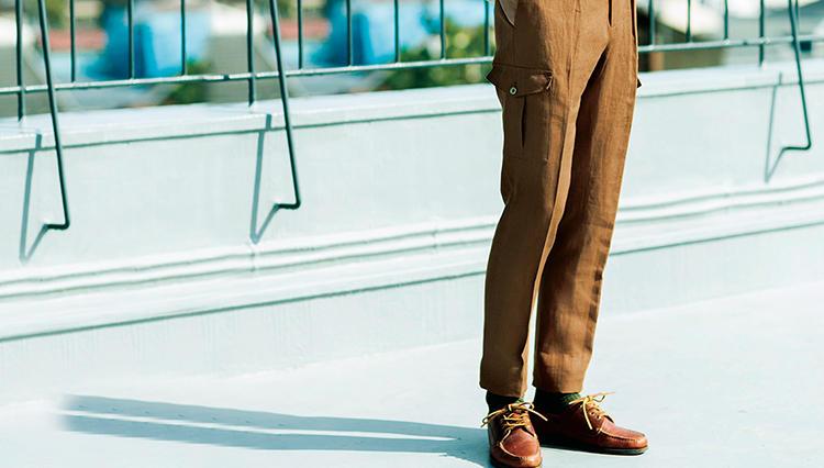 PT01の「マドラス」は、装飾性に富みながら穿くとなぜスマートに見える?