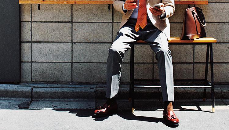 靴と足が一体化する感覚が堪らないのは、エドワード グリーンのこのモデル!【月曜日のローファー】