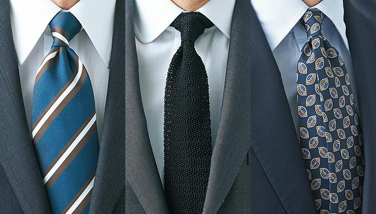 結び方次第で、ネクタイの魅力はもっと引き立つ