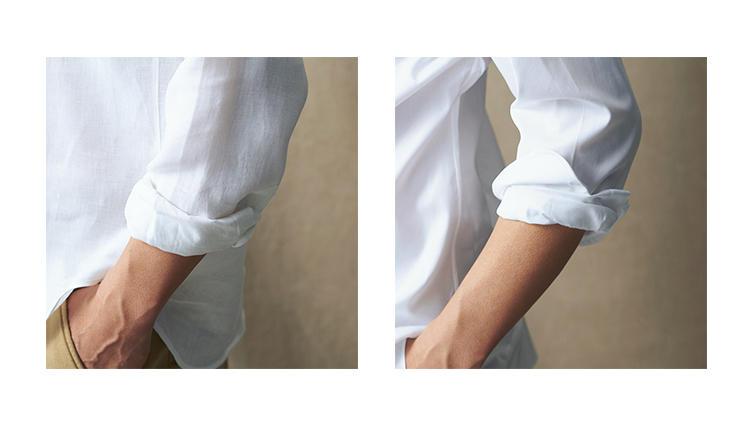 お洒落に腕まくり! シャツの袖まくりはこの2つをマスターすべし