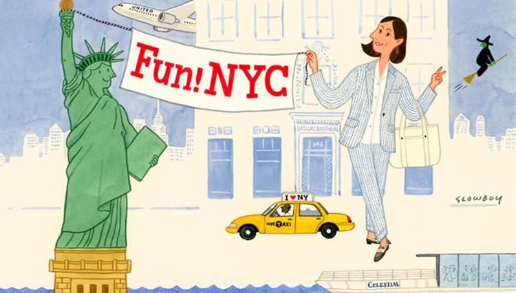 MEN'S  EX ONLINE編集長・平澤の最新ニューヨーク案内【Fun! NYC #prologue】