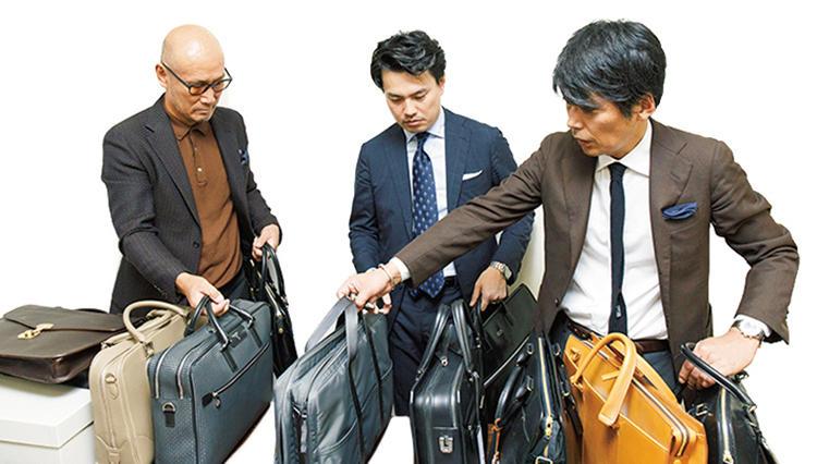 この秋欲しいビジネスバッグを編集長、スタイリスト、ライターが語り尽くす