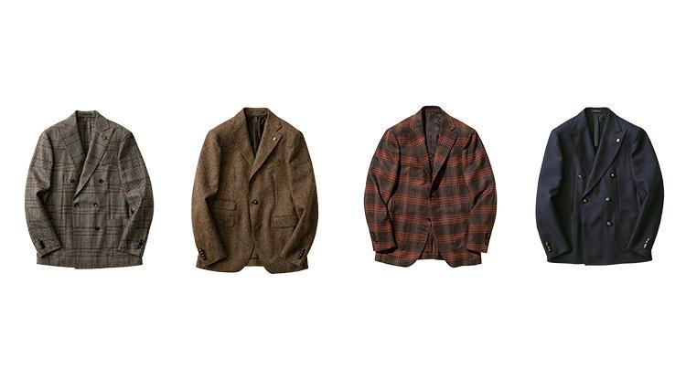 ラルディーニ、タリアトーレの今季イチ押しお仕事ジャケット買い足し早見表