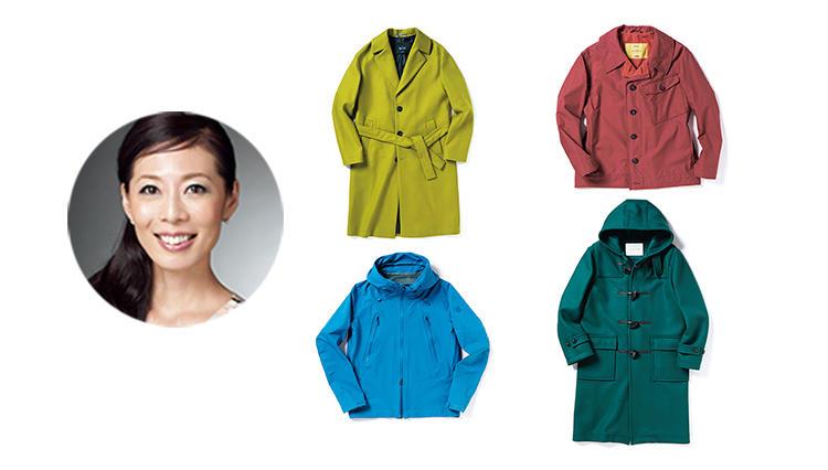 モノトーンに1色プラス! 休日に大人が着るべき「カラーアウター」4選